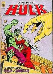 O Incrível Hulk #19, da Editora Abril