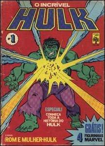 O Incrível Hulk #1, da Editora Abril