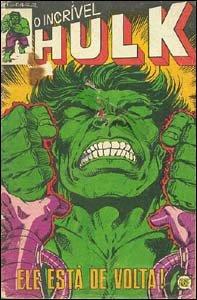 Hulk #1, da RGE