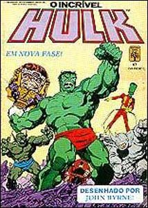 O incrível Hulk #67, da Editora Abril