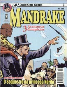 Mandrake, coleção King Komix #3
