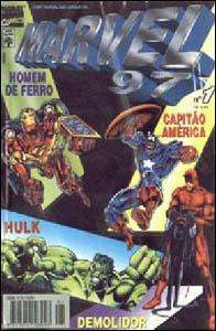 Marvel 97 #1, da Editora Abril