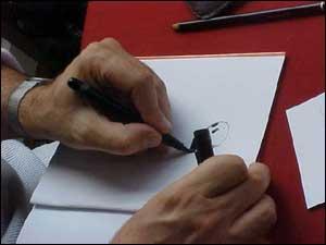 Mattotti faz desenho para o UHQ