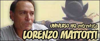 Universo HQ entrevista Lorenzo Mattotti