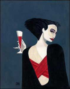 Ilustração para a revista Vanity Fair