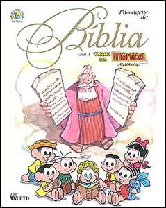 Passagens da Bíblia com a Turma da Mônica