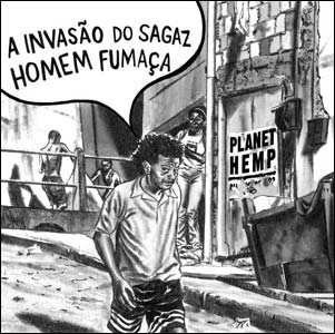 Encarte do CD da banda Planet Hemp