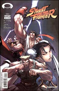 Capa de Street Fighter #1