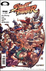 Capa alternativa de Street Fighter #1