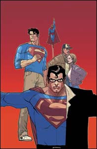 Superman: Birthright #3, arte de Leinil Yu