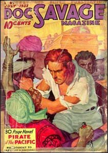 Doc Savage Magazine, de 1933