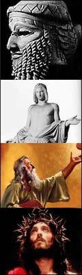 Gilgamesh, Balder, Moisés e Jesus