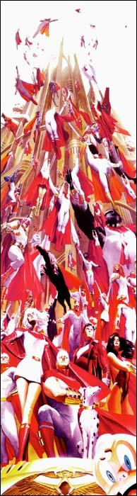 Supremacy, arte de Alex Ross