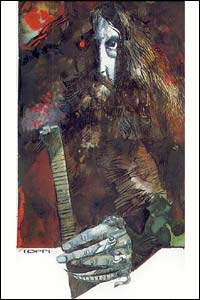 Alan Moore, arte de Sergio Toppi