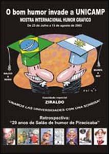 Mostra Internacional de Humor Gráfico da Unicamp