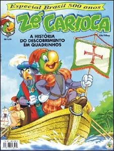 Zé Carioca Especial Brasil 500 Anos