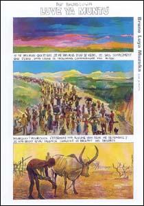 Arte de Bruno Luya Muzuka, do Congo