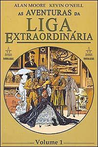 As Aventuras da Liga Extraordinária, edição da Pandora Books