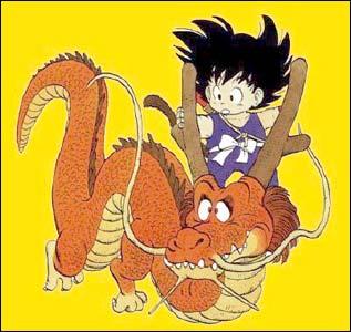 Goku quando criança