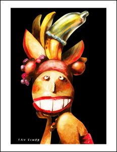 Arte de Cau Gomez, do Brasil