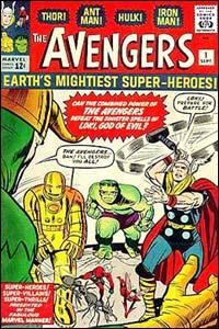 The Avengers #1, de 1963