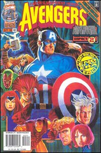 Avengers #402, o último do volume 1