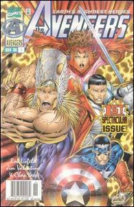 Avengers #1, da linha Heroes Reborn