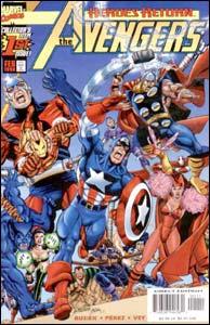 The Avengers #1, volume 3