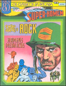 Os Clássicos da Década apresentam Super-Homem # 2 - Sargento Rock e Homens Metálicos
