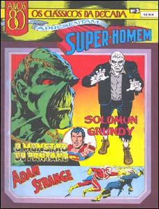 Os Clássicos da Década apresentam Super-Homem # 3 - O Monstro do Pântano e Adam Strange