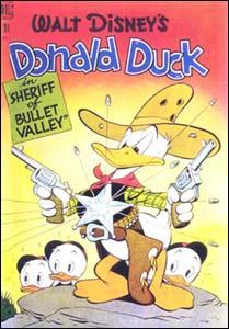 Donald Duck, capa de Carl Barks para a editora Dell