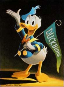 Donald, arte de Carl Barks