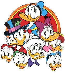 A família pato