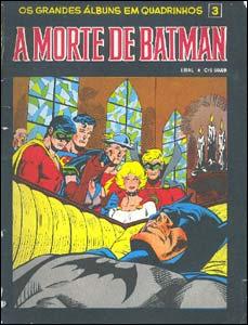 Os Grandes Álbuns em Quadrinhos # 3 - A Morte de Batman