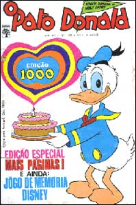 Pato Donald #1000