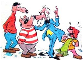 Prof. Nefarius e sua gangue