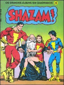 Os Grandes Álbuns em Quadrinhos # 4 - Shazam!