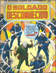 Os Grandes Álbuns em Quadrinhos # 2 - O Soldado Desconhecido