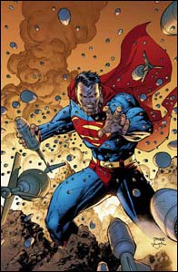 Superman #205, arte de Jim Lee