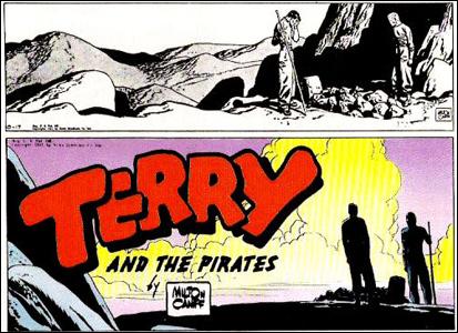 8º lugar: Terry e os Piratas