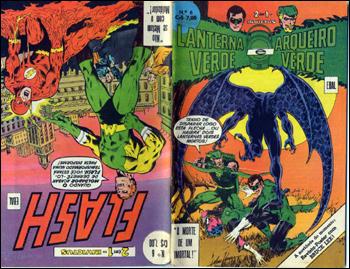Lanterna Verde e Arqueiro Verde / Flash