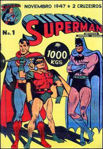 Primeiro Superman da Ebal