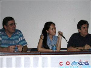 Sidney Gusman, Erica Awano e Elmano Silva
