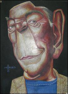 Caricatura 2º lugar: Moisés Courinho (Mogi Guaçu/SP)