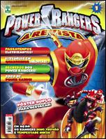 Power Rangers - A Revista # 1