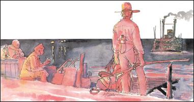 Ken Parker # 49 - Sangue Vermelho
