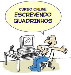 curso online Escrevendo Quadrinhos