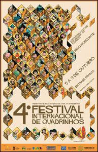 IV Festival Internacional de Quadrinhos de Belo Horizonte/MG