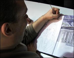 Janjetov, ilustrador de John Difool, seqüência da série Incal