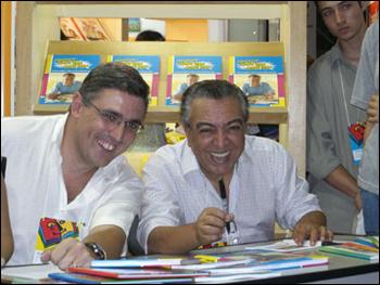 Sidney Gusman e Mauricio de Sousa